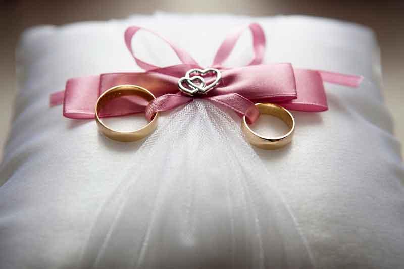 Las arras en el matrimonio