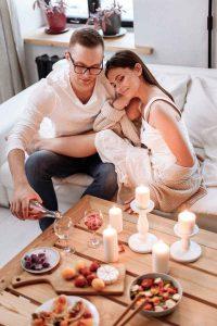 Aniversario bodas Cena en casa