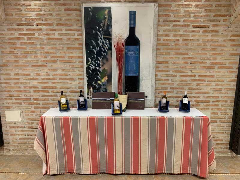 Exposición de mesa