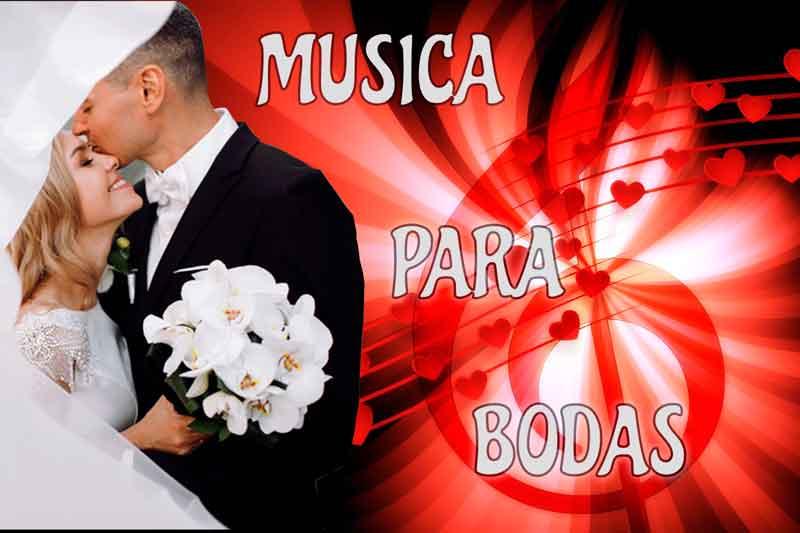 Musica para boda